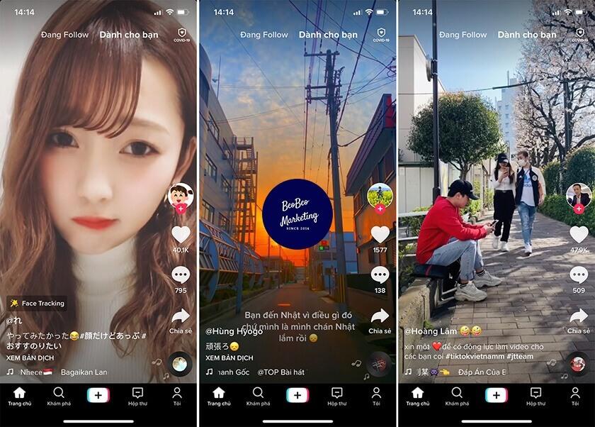 TikTok Marketing tạo video viral