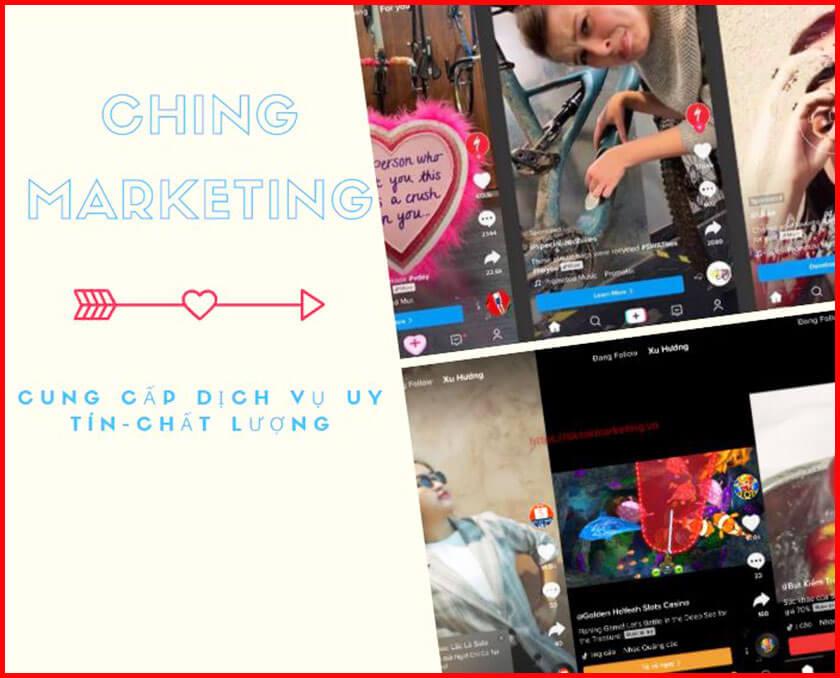 Mua tim Tik Tok tại Ching Marketing