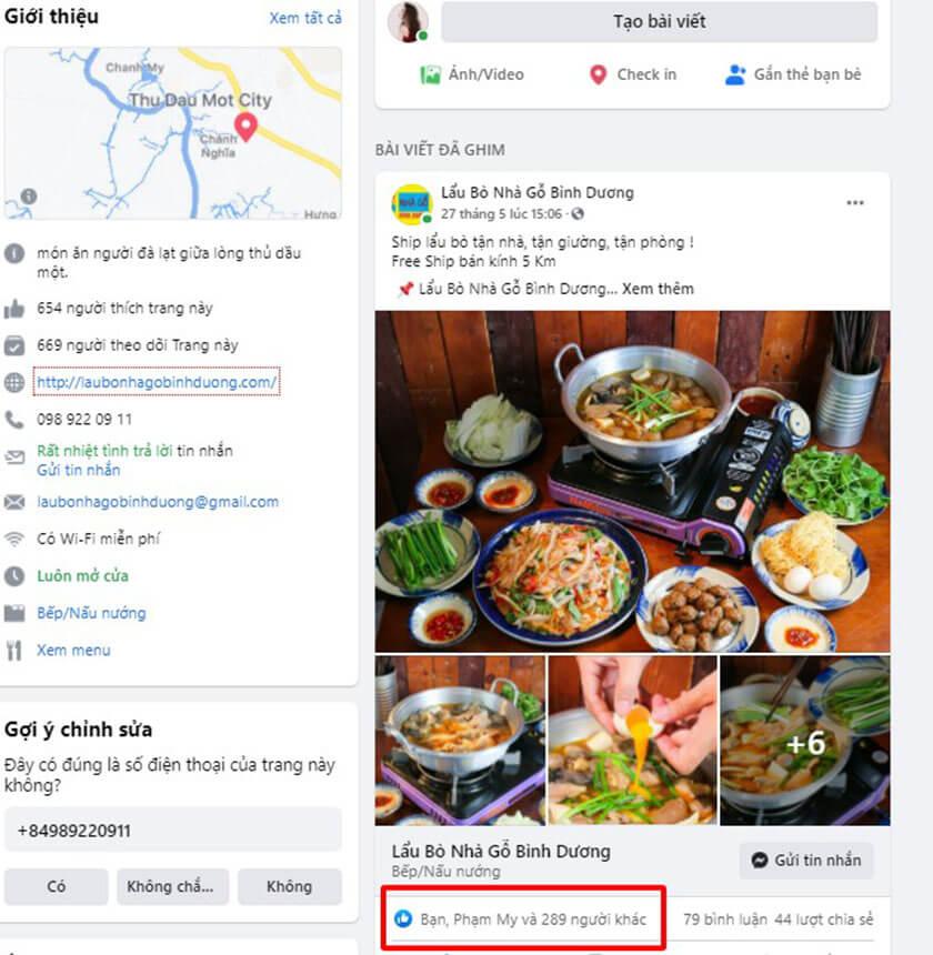 Chạy quảng cáo Hack Like Facebook