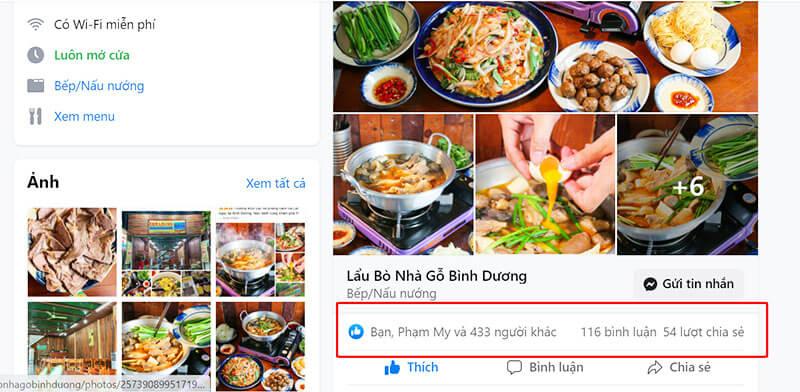 Chạy quảng cáo tăng like Facebook