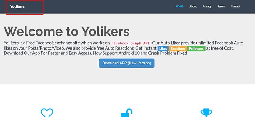 Phần mềm Auto like Yoliker