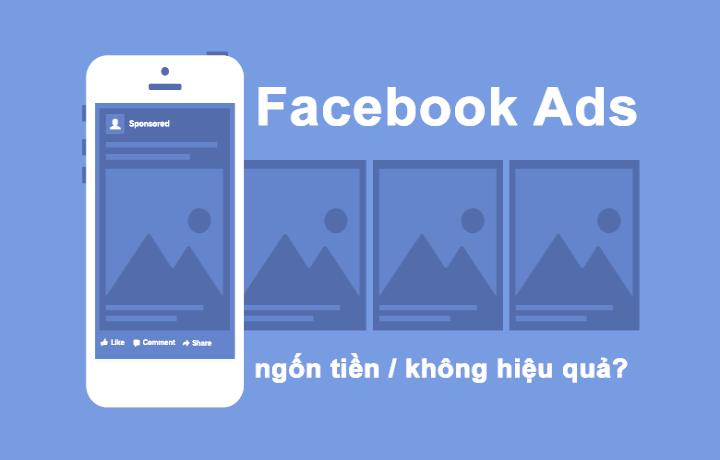 Quảng cáo facebook không hiệu quả