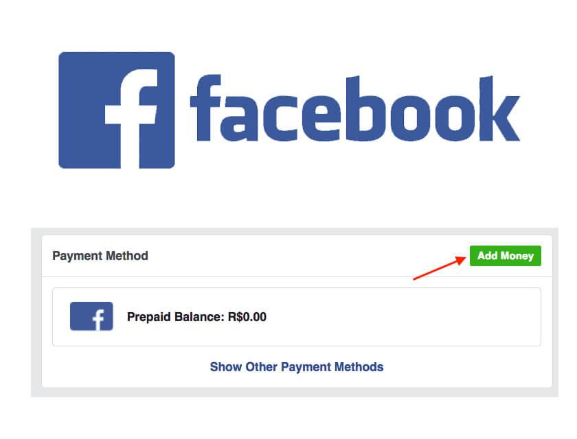 Cách nạp tiền quảng cáo trên Facebook vào số dư trả trước