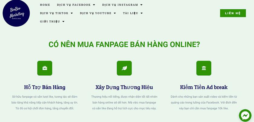 Công ty quảng cáo Facebook Beo Marketing