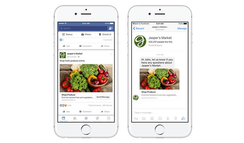 Kích cỡ ảnh quảng cáo Facebook Carousel ads