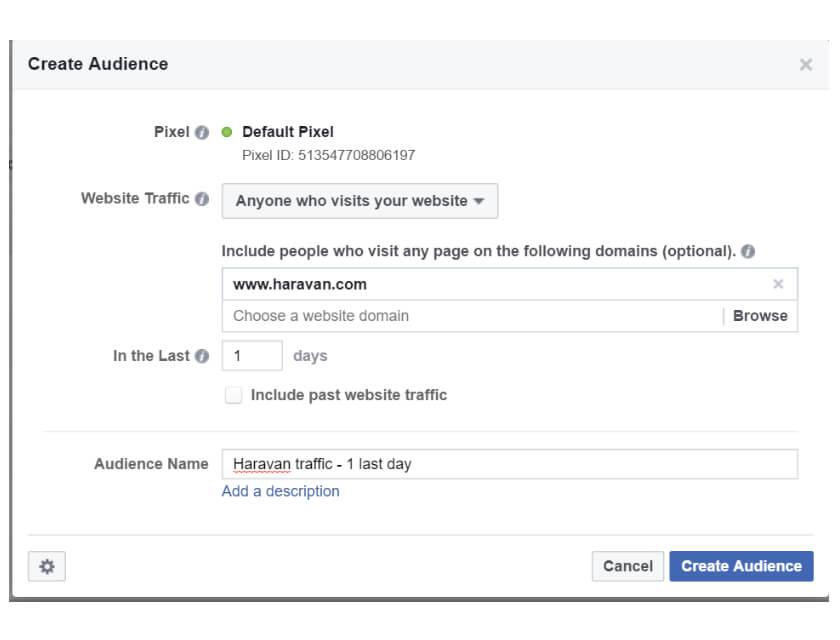 Hack quảng cáo Facebook đối tượng điều chỉnh tổng thể
