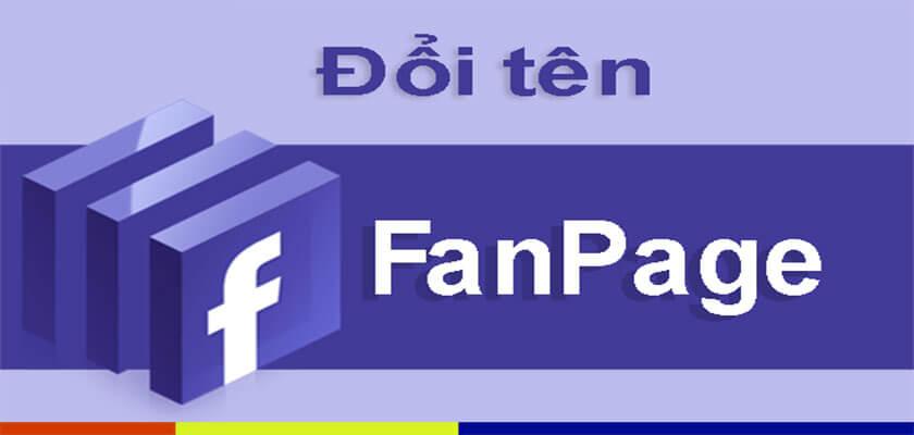 Nguyên tắc đặt tên người dùng fanpage
