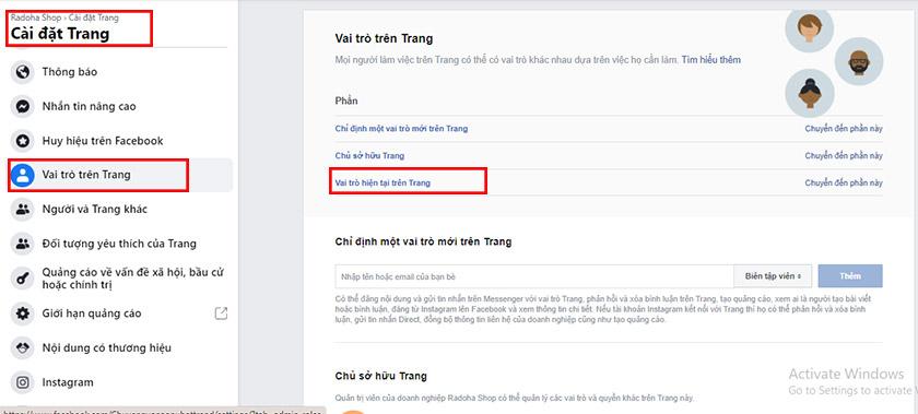 Cách tìm admin của fanpage facebook