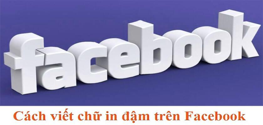 Cách làm chữ đậm trong status facebook