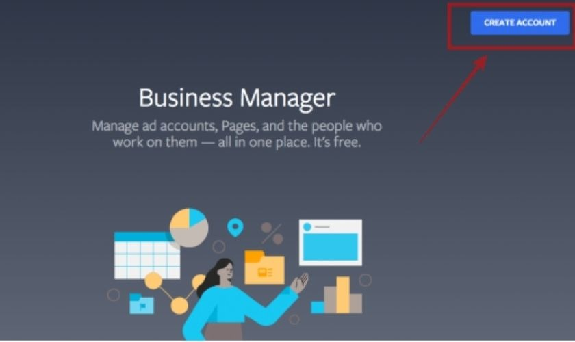 create account busines manager