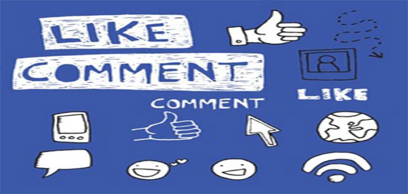 Like, comment và share bài viết thường xuyên để tăng tương tác