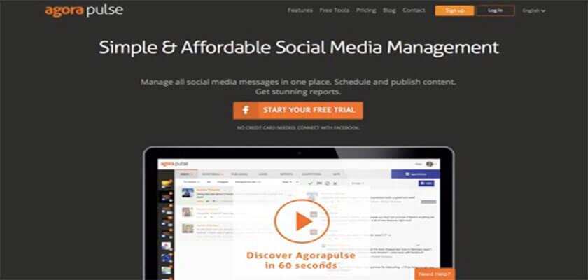 Phần mềm quản lý fanpage AgoraPulse